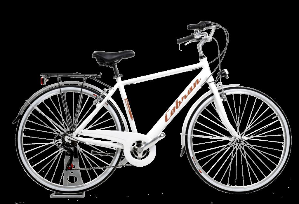 City bike in alluminio made in italy