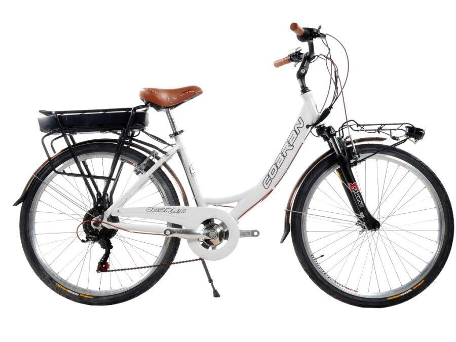 bicicletta elettrica cobran 26
