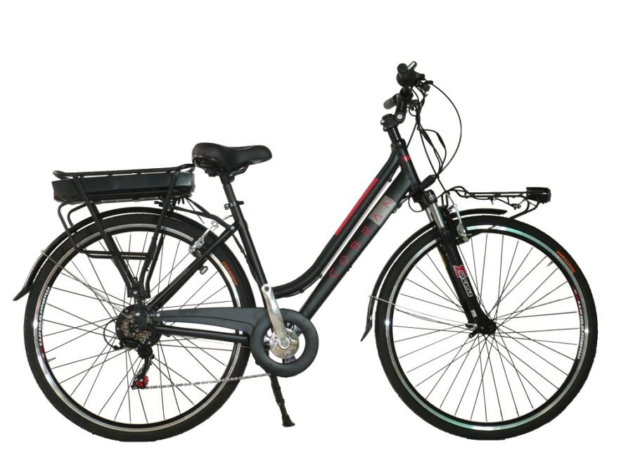bici elettrica da trekking donna