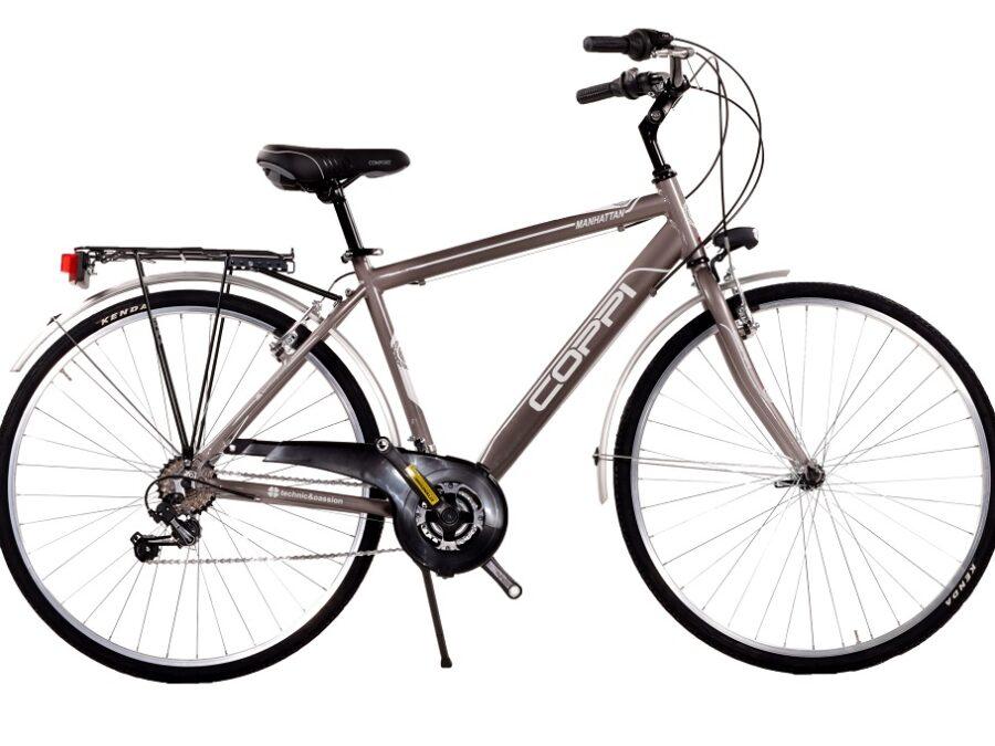 city bike in alluminio uomo