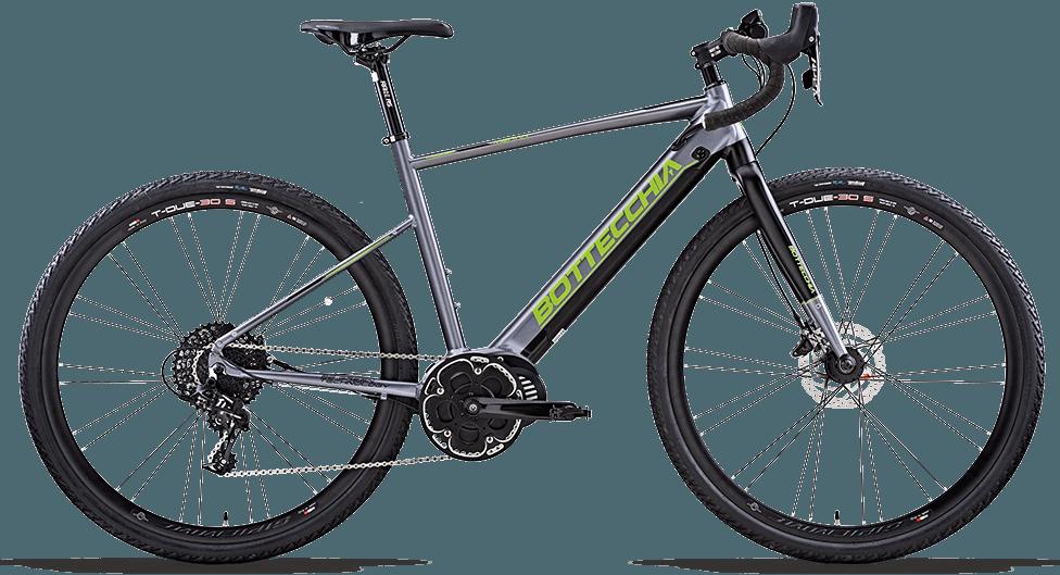 e-road bike bottecchia be 85 merak gravel in carbonio
