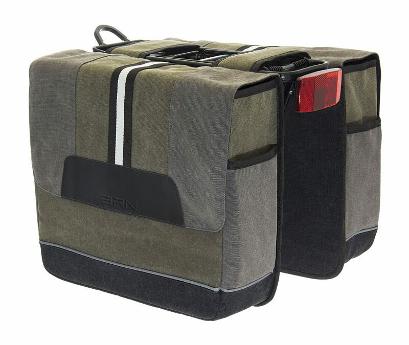 borsa in canvas per biciclette