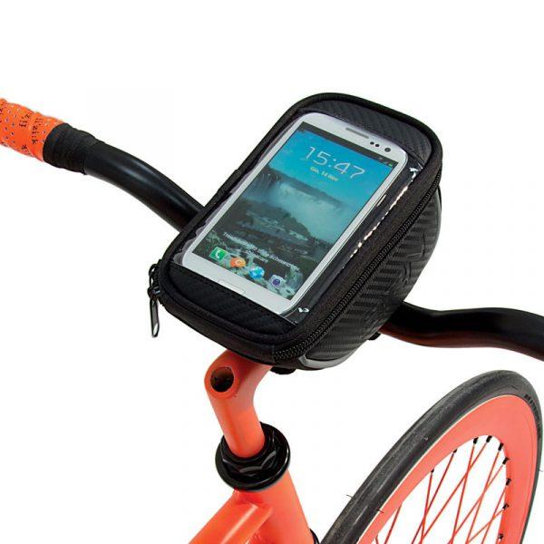 borsa porta cellulare per bici
