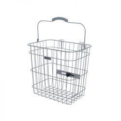 cestino per bici posteriore in metallo con manico BRN Shopper
