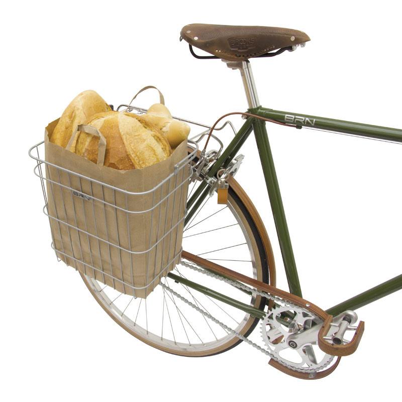 cestino per biciclette posteriore
