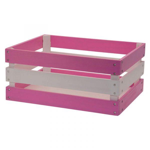 scatola per bici rosa