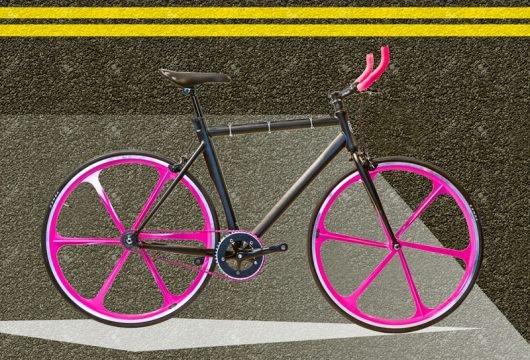 Cobran bici scatto fissa futura fuxia