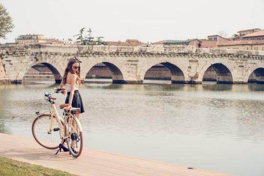 bicicletta elettrica retrò 2.1