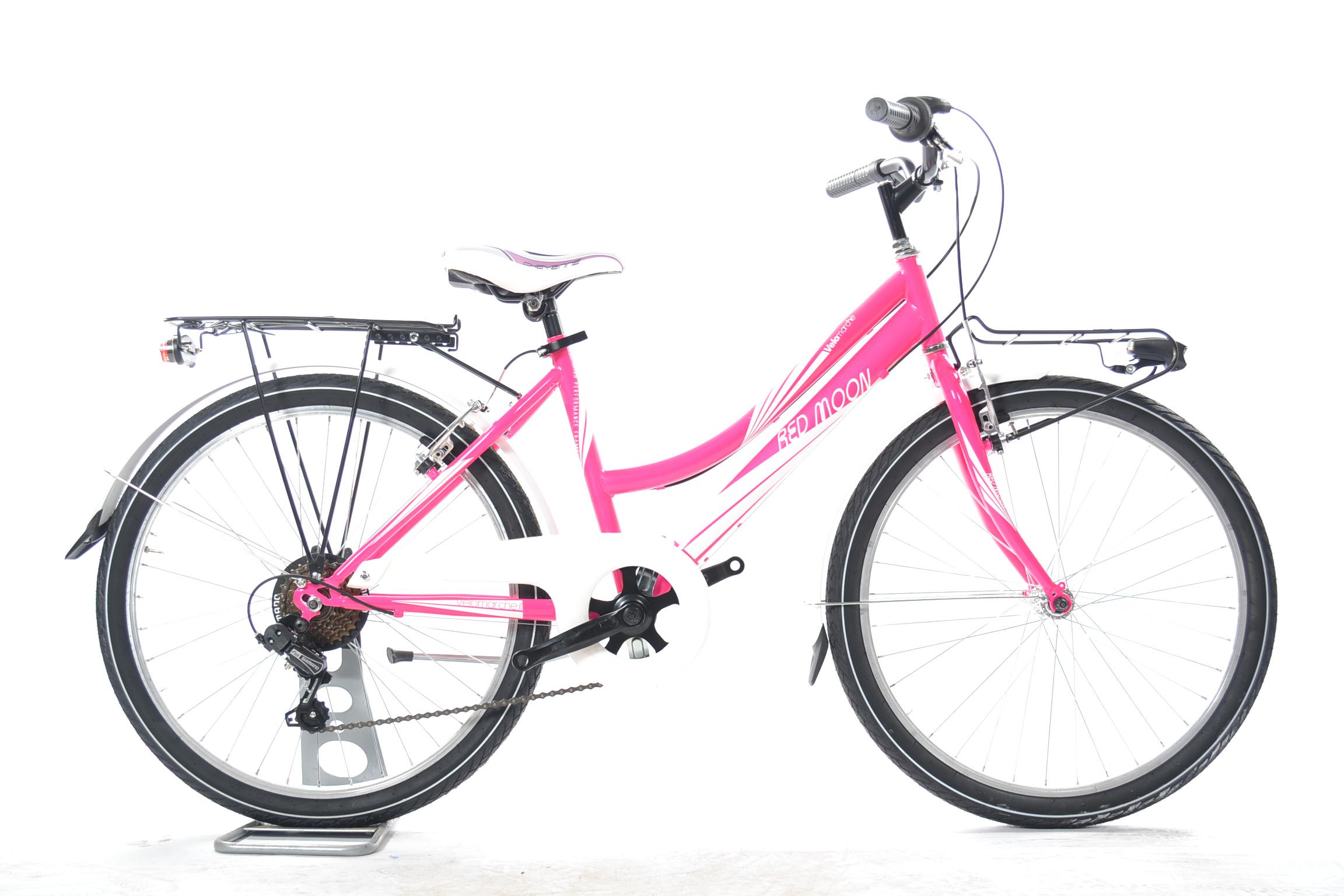 Bicicletta Da Ragazzina Red Moon Ruota Del 26