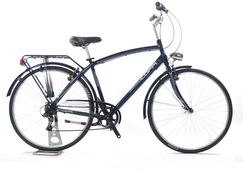 Bicicletta Da Città Fausto Coppi Rondò Uomo 7v