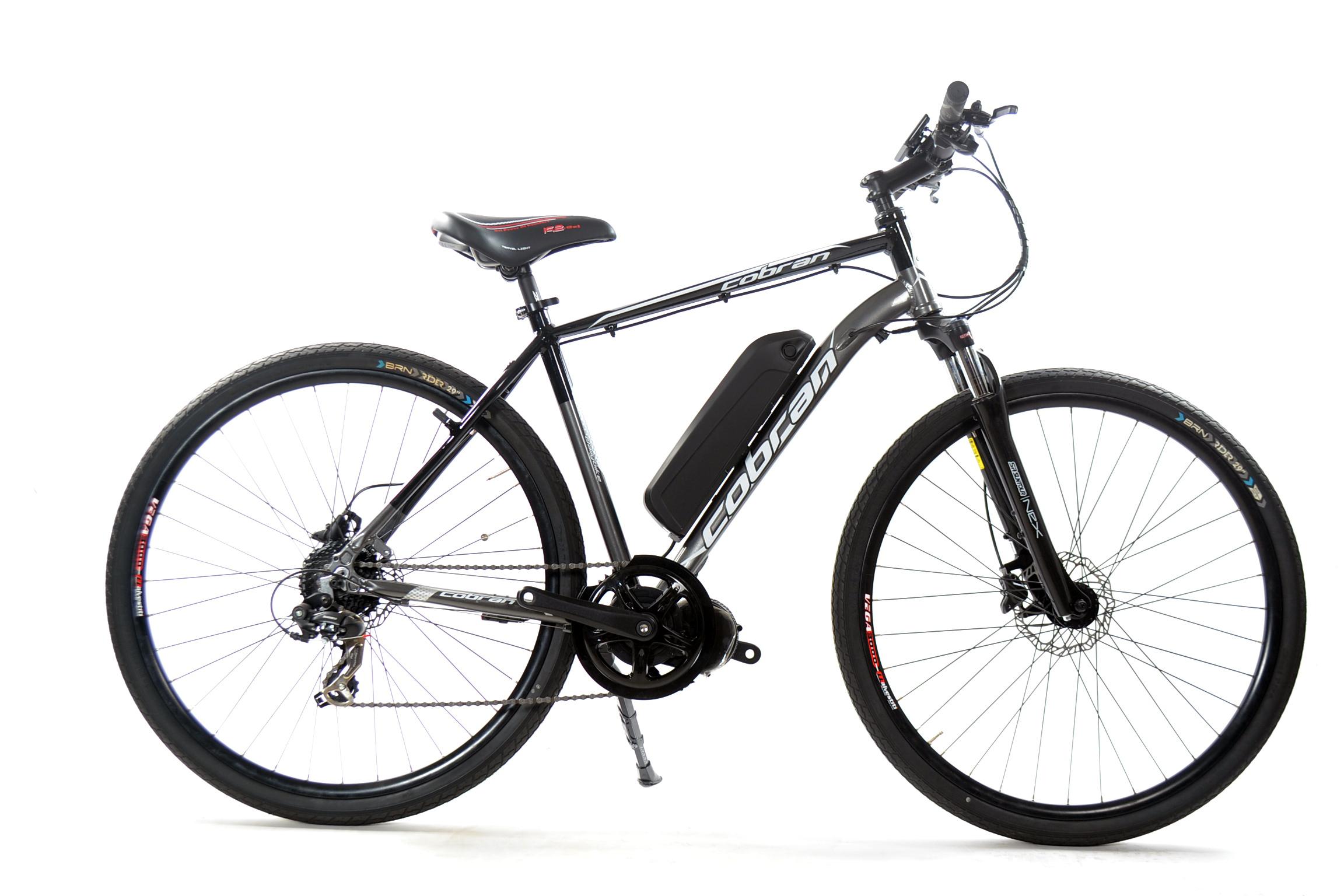 Bici Elettrica Trekking Con Motore Centrale Cobran Limitless Uomo