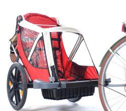 bici carrello porta bimbo