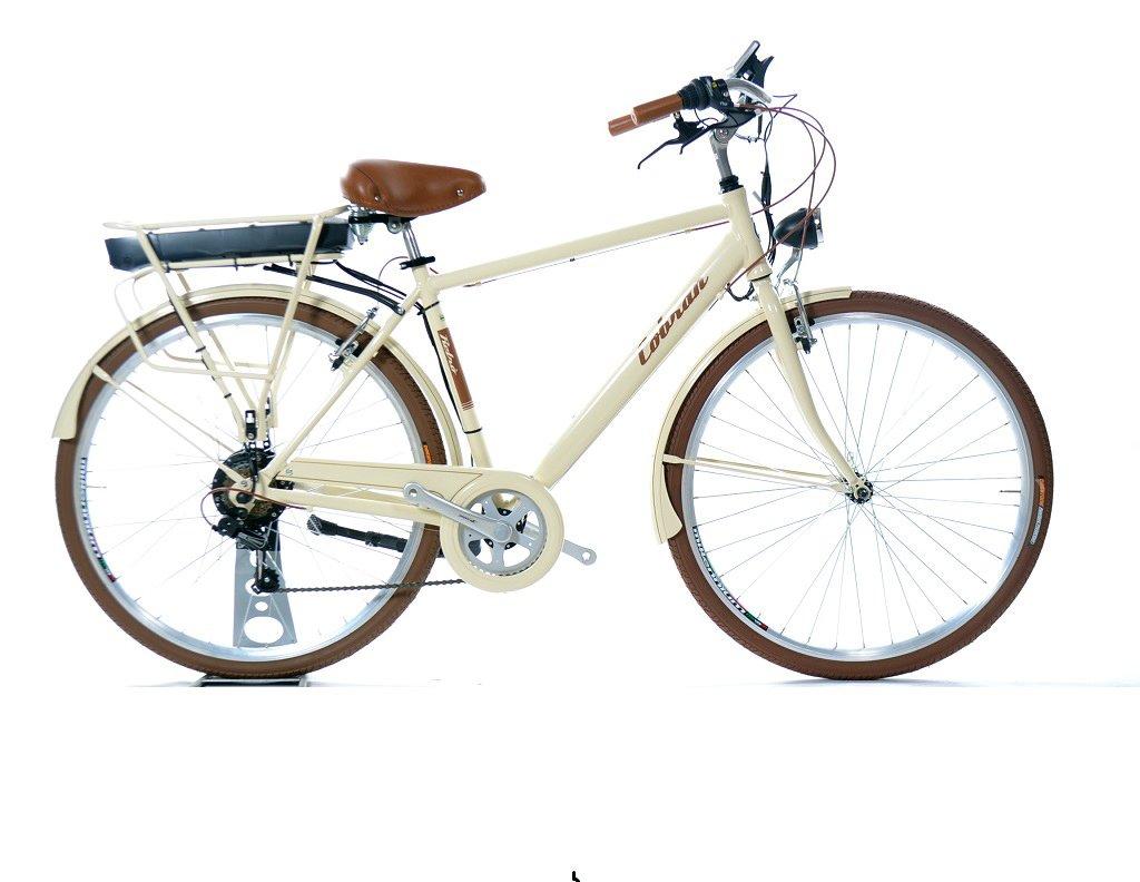 bici elettrica vintage retrò di produzione artigianale