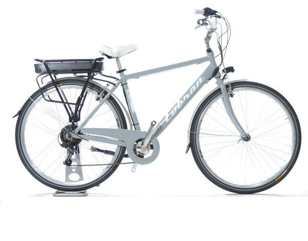 bici da città elettrica vintage