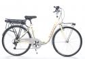 bici elettrica colorazione panna