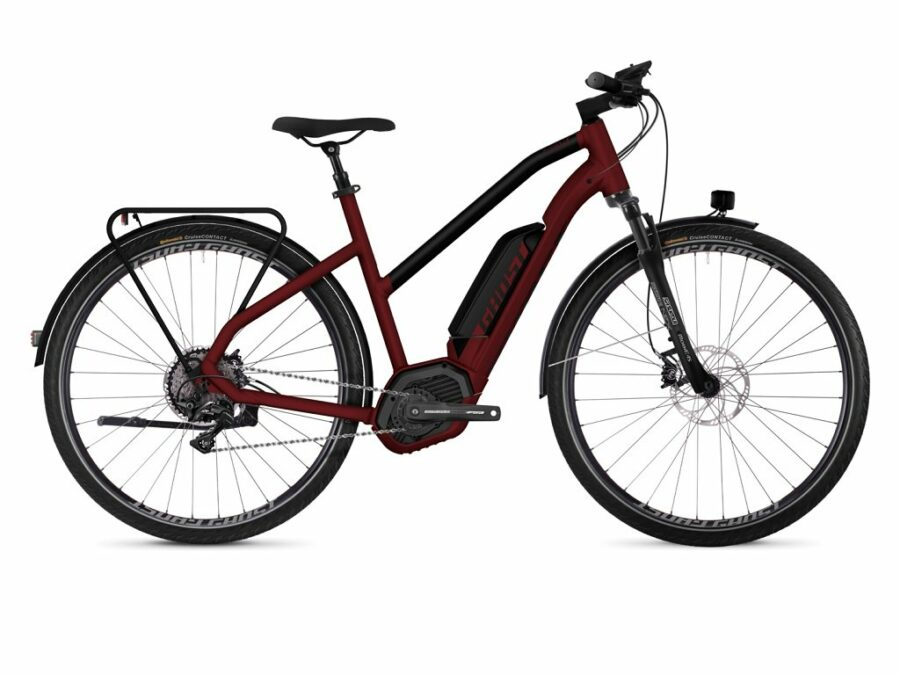 city bike elettrica da donna