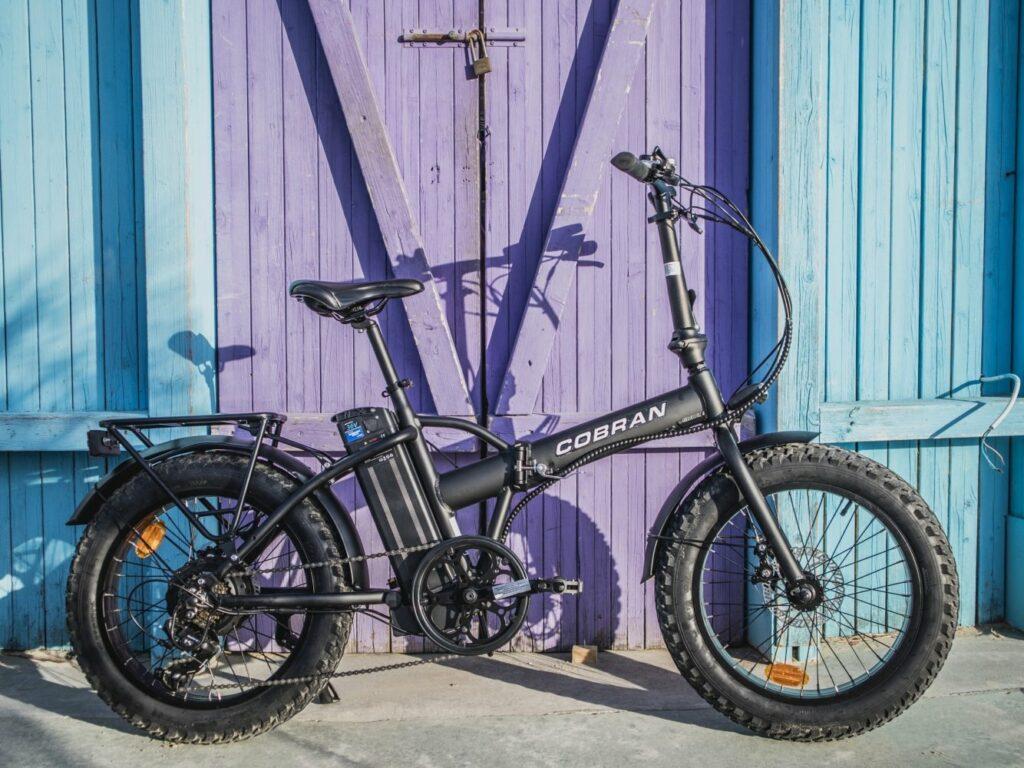 Fat bike rimini pieghevole