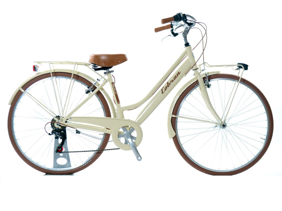 city bike retrò da donna