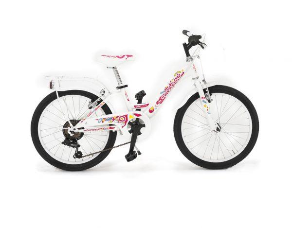 bici del 20 con cambio da bambina