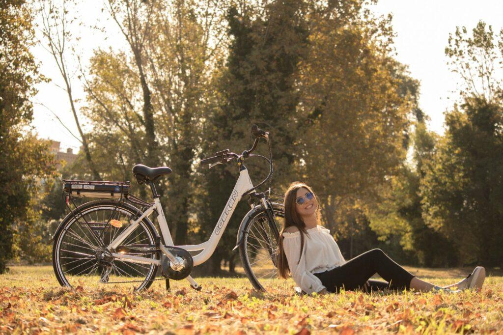 bici elettrica on offerta Cobran 500