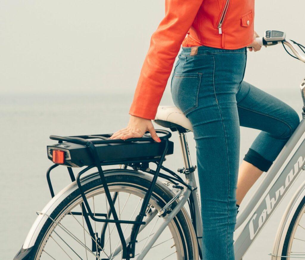 batteria a litio per bicicletta