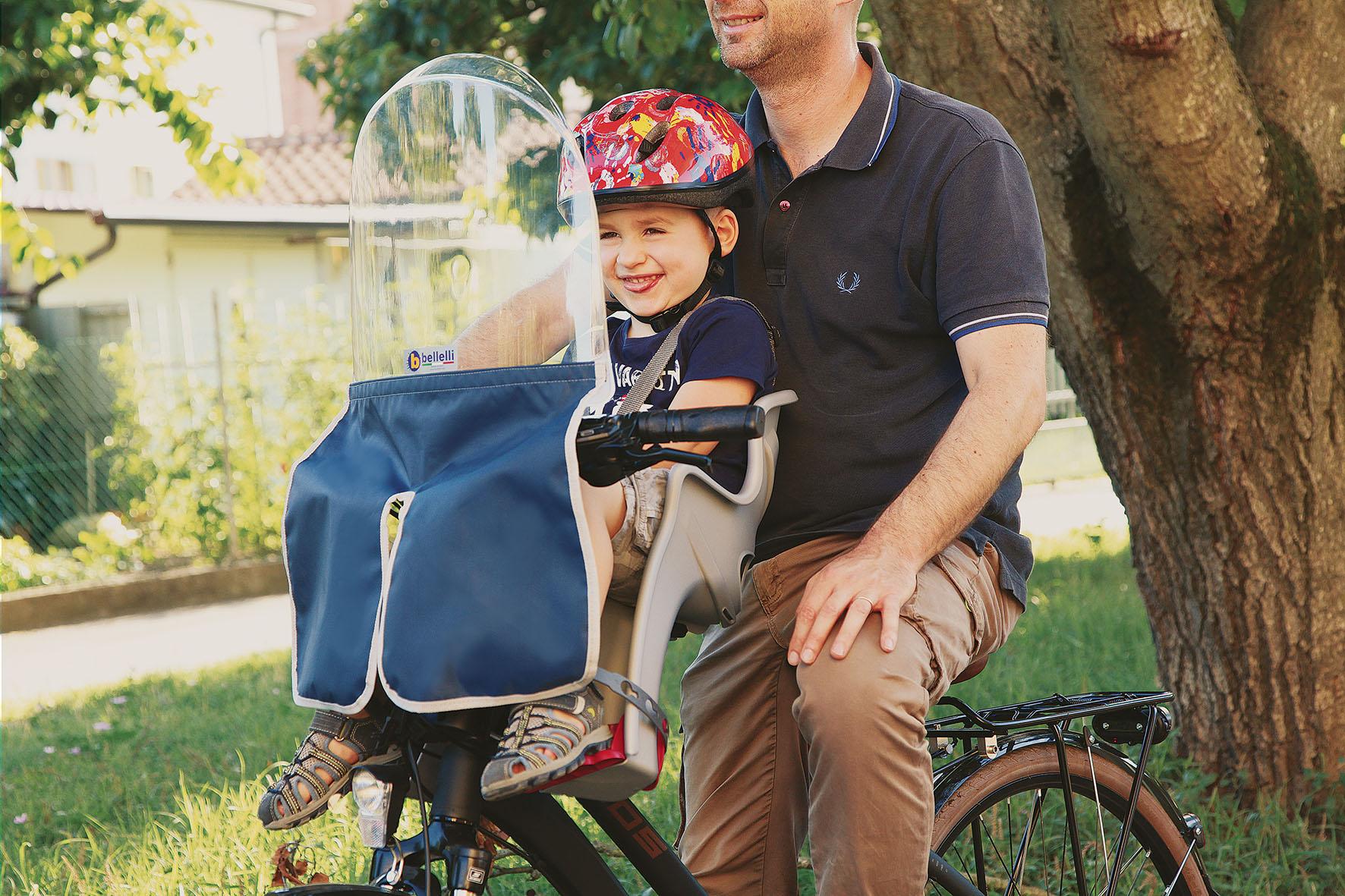 parabrezza per bici