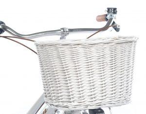 cesto in vimini per bici