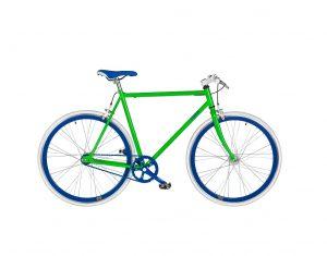 bici a scatto fisso in acciaio