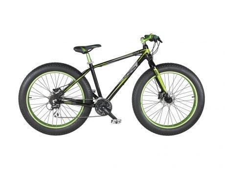 fat bike in alluminio