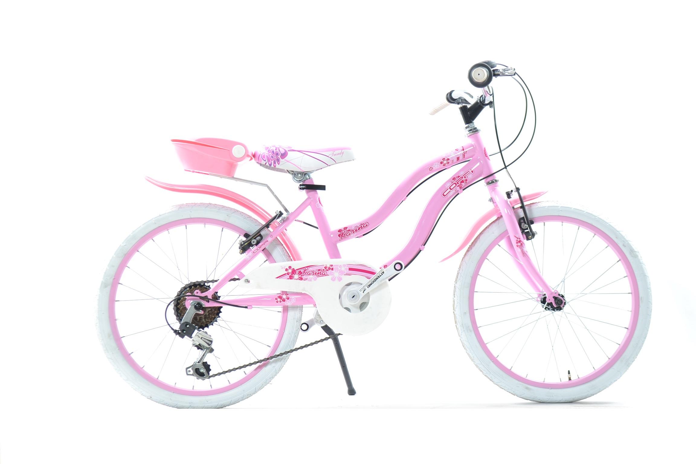 Bicicletta Da Bambina Fausto Coppi Karina Del 20 Con Cambio