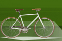 bici a monorapporto vintage