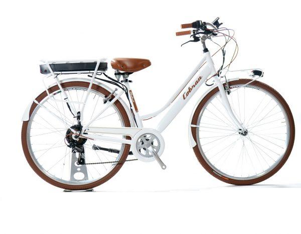 bicicletta elettrica retrò made in italy