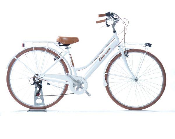 city bike da donna colore bianco