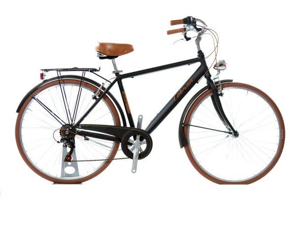 bicicletta retrò uomo nera