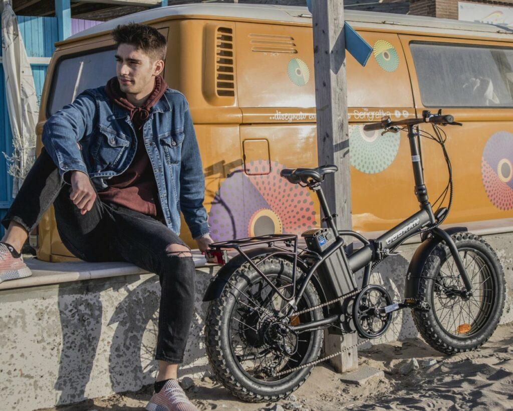 fat bike elettrica pieghevole made in italy