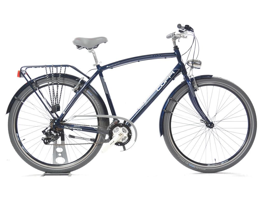 Bicicletta Da Città Fausto Coppi Rondò Uomo 21v